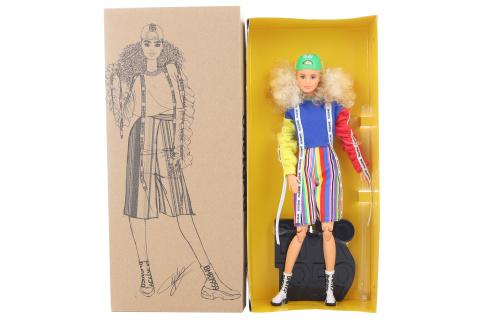 Barbie BMR1959 Barbie v ponožkových teniskách módní deluxe GHT92