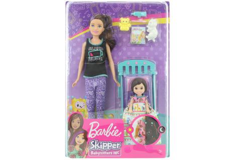 Barbie Chůva herní set - sladké sny o/s GHV88