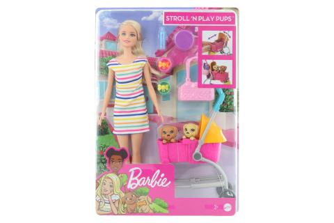 Barbie Panenka na vycházce s pejskem GHV92