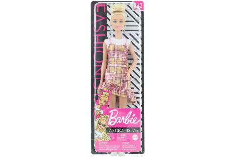 Barbie Modelka - plédové šaty GHW56