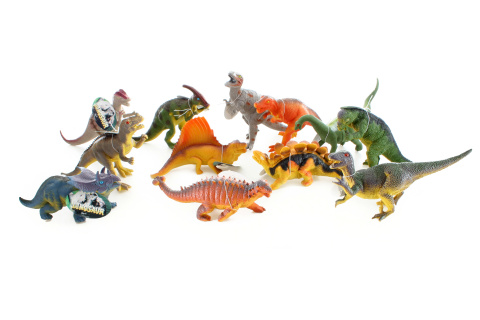 Dinosauři střední 24/bal