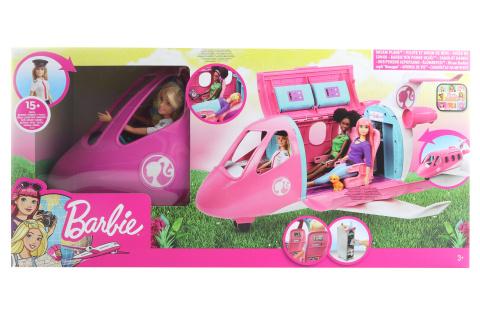 Barbie Letadlo snů s pilotkou GJB33