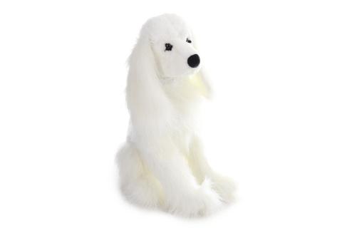 Plyš Pes pudl bílý 53 cm
