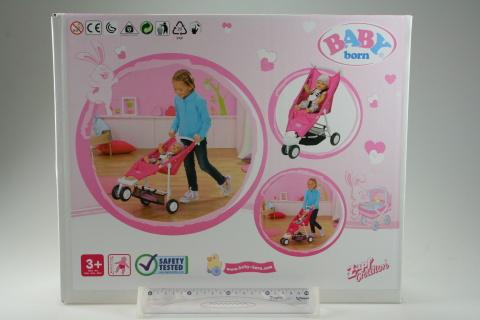 BABY born Barevný tříkolový kočárek