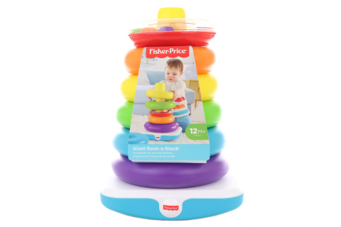 Fisher Price Obří kroužky na tyči GJW15 ON-LINE 1.4.-30.6.2020