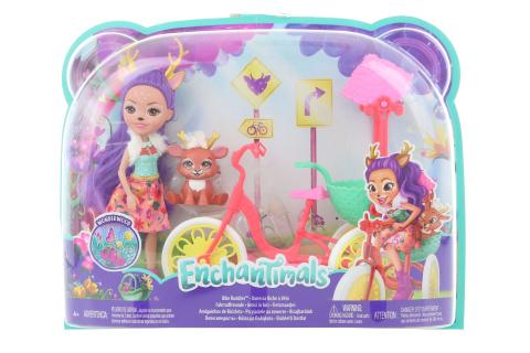 Enchantimals herní set na kolech FJH11