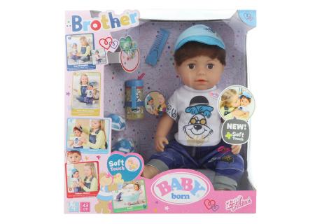Starší bratříček BABY born Soft Touch, 43 cm