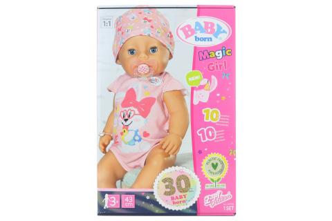 BABY born s kouzelným dudlíkem, holčička, 43 cm TV 1.3.-30.6.