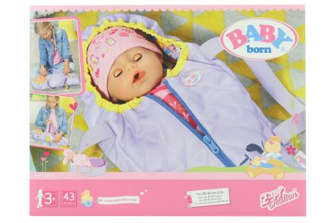 BABY born® 2v1 Přenosná postýlka