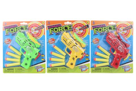 Pistole s pěnovými náboji