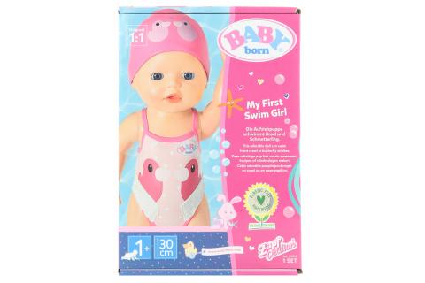 BABY born My First Plaváček, 30 cm TV 1.3.-30.6.2021