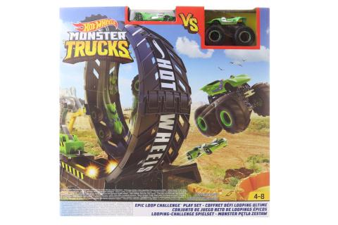 Hot Wheels Monsters trucks velká smyčka herní set GKY00