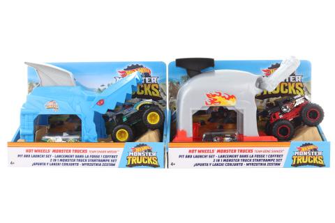 Hot Wheels Monsters trucks závodní herní set  GKY01