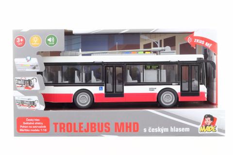 Trolejbus s českým hlasem
