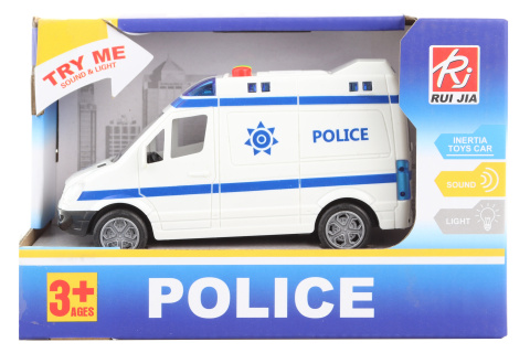 Auto policie na baterie