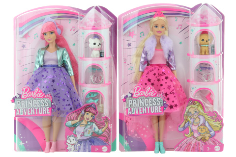 Barbie Princes adventure Princezna  GML75