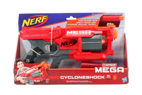 Fotografie Nerf Mega s rotačním zásobníkem