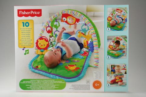 Fisher Price hrazdička pro aktivní dítě 3v1 Rainforest CHP85