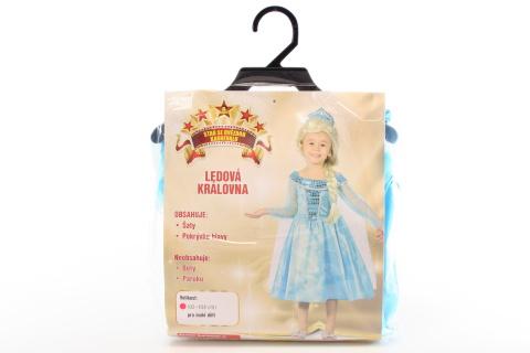 Šaty na karneval - Ledová královna, 92 -104 cm