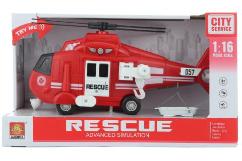 Helikoptéra hasiči baterie