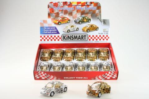 Kinsmart Volkswagen New Bettle 12/bal