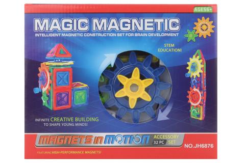 Magnetická stavebnice 32 ks