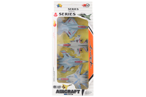 Sada kovových letadel