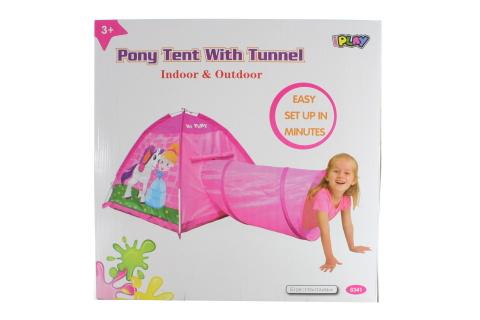Stan poník s tunelem