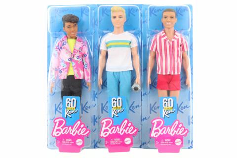 Barbie Ken 60. výroči GRB41