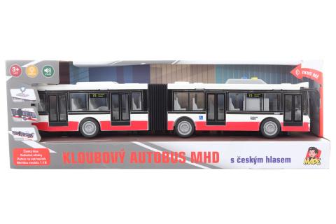 Autobus s českým hlasem na setrvačník 44 cm