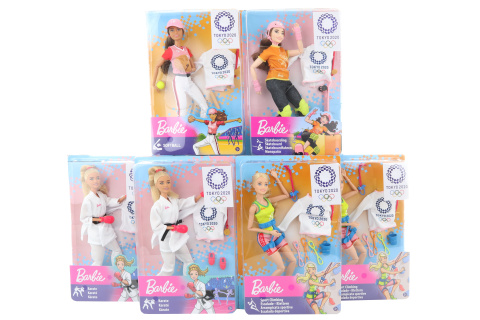 Barbie Olympionička GJL73