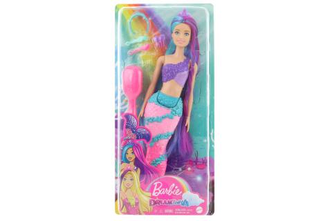 Barbie Mořská panna s dlouhými vlasy GTF39