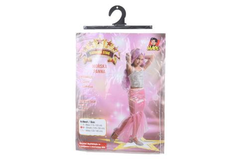 Šaty na karneval - Mořská panna 120 - 130 cm