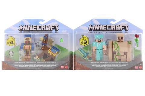 Minecraft 8 cm figurka dvojbalení  GTT53