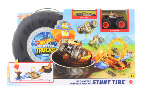 Hot Wheels Monster trucks kaskadérské kousky herní set GVK48 TV