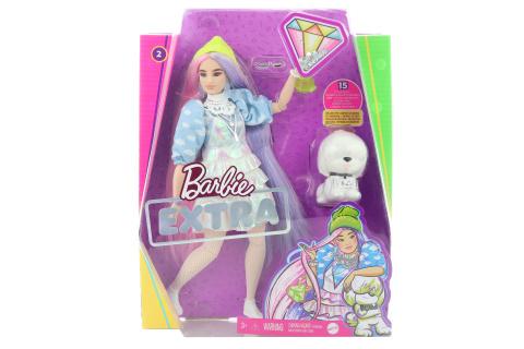 Barbie extra - v čepici GVR05
