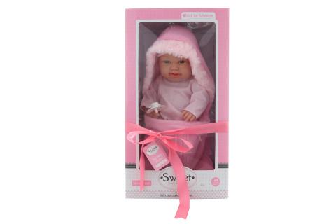Miminko holčičkapevné tělo v zavinovačce v dárkovém balení