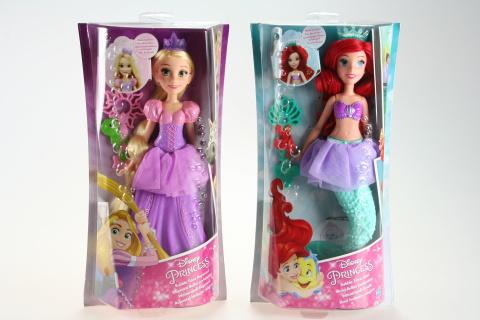 Disney Princess panenka s bublifukem