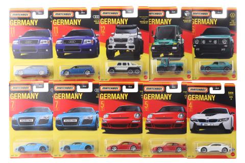 Matchbox Ty nejlepší německé angličáky  GWL49