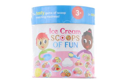 Hra pro předškoláky zábavné kopečky zmrzliny GWN54