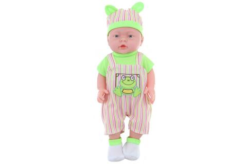 Miminko chlapeček - pohlaví chlapečka-  zelený v sáčku