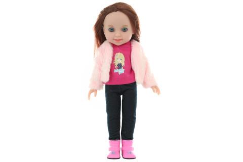 Panenka brunetka 30 cm v sáčku