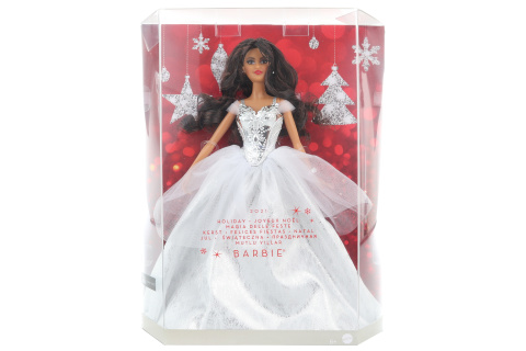Barbie Vánoční panenky latinoameričanka GXL20