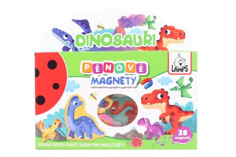 Pěnové magnety Dinosauři