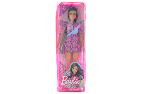 Barbie Modelka - šaty se vzorem hadí kůže GXY99 TV 1.4.- 30.6.