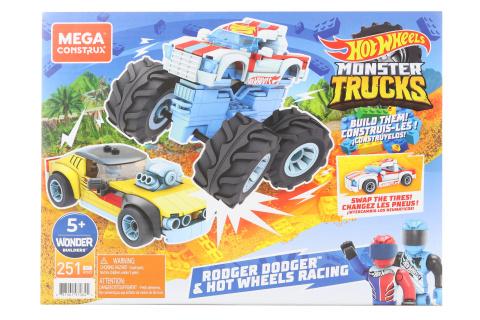 Mega Construx Hot Wheels Rodger Dodger a závodění GYG22