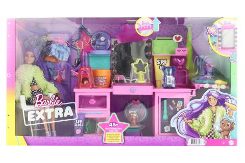 Barbie Extra šatník s panenkou - herní set TV 1.10.-31.12.2021