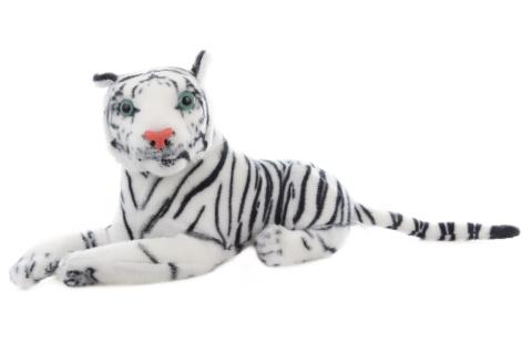 Plyš Tygr bílý 29 cm