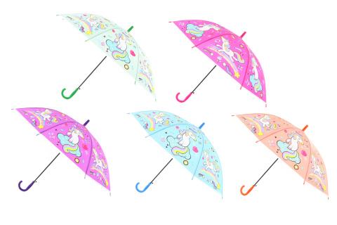 Deštník jednorožec vystřelovací