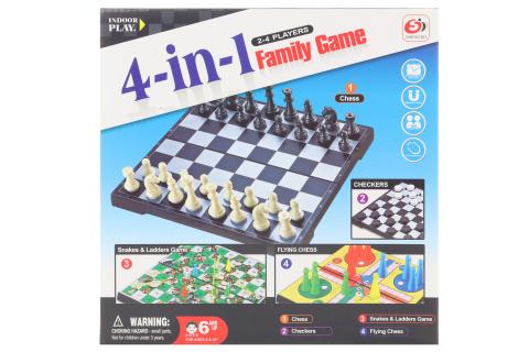 Set společenských her 4v1